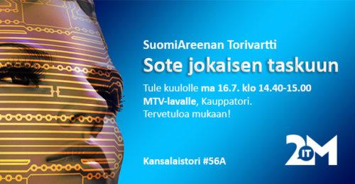 Torivartti 16.7. klo 14.40-15.00 #suomiareena
