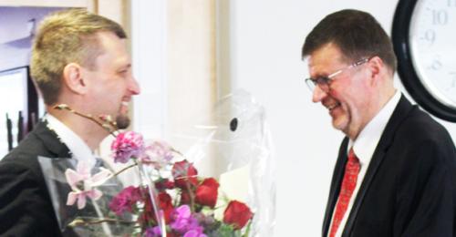 Jari Nevalainen ja Timo Koivu