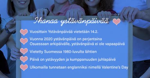 Ystävänpäivä 2020